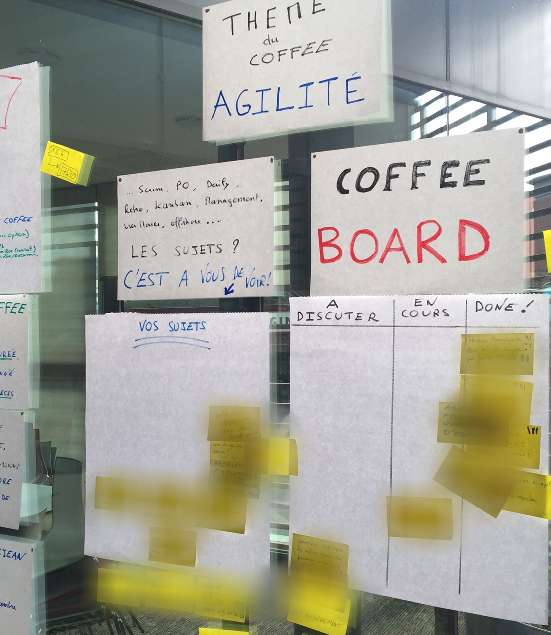 lean coffee agile